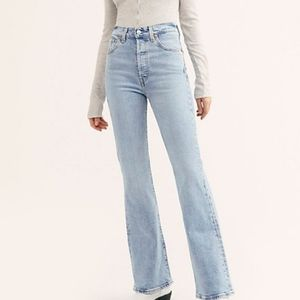 Levi's Ribcage Flare High Rise Jeans